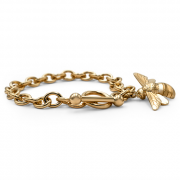 14K Yellow bracelet with Large Bee