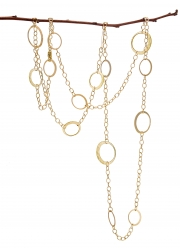 Recycled 14k Yellow gold Petite Eclipse chain
