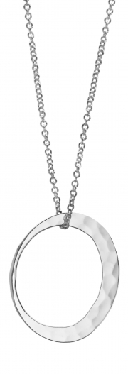 Recycled Sterling Silver Petite Eclipse necklace