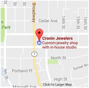 Find Cronin Jewelers Map